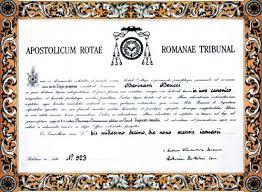 catholic marriage certificate concordat faq annulment