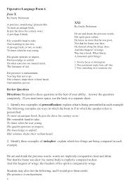 figurative language poem 6 documents