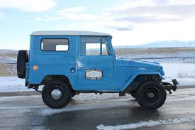 land cruiser fj40 for sale 1965 toyota land cruiser fj40 4800 original miles