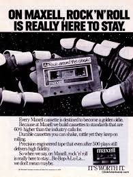 maxell cassette maxell cassette ads 1980s click americana