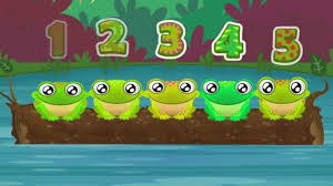 five green and speckled frogs songs for kids nursery rhymes