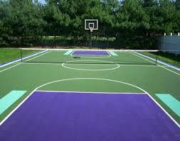 Backyard Tennis Courts by Backyard Courts Build Your Homecourt Mateflex