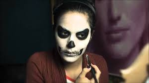 Girls Halloween Makeup Cool Halloween Party Makeup For Girls Step By Step Youtube