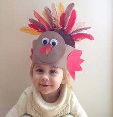 feather thanksgiving hat crafts for toddlers 2014