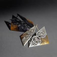contemporary jewellery designers jali earrings contemporary earrings by contemporary jewellery
