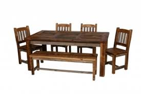 greyed timber dining room southern creek rustic furnishings