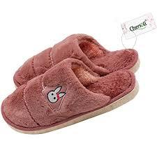 Bedroom Slippers | amazon com coral velvet short plush slippers winter slippers