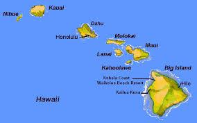 map kona usa map of hawaii islands big island map map of usa states