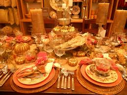 thanksgiving tablescapes decorating table for dinner