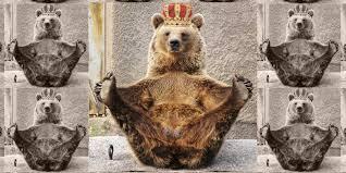 Meme Bear - we spoke to the infamous landlord bear a capitalist meme run amok