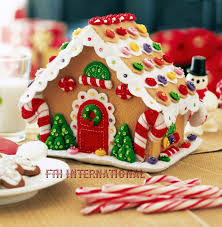 gingerbread house bucilla felt 3d home decor kit 85261