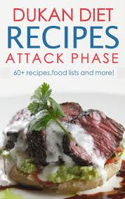 buy dukan diet attack phase recipes and diet plan for the dukan