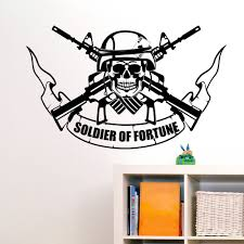 soldier of fortune military wall sticker world of wall stickers soldier of fortune military wall sticker decal a
