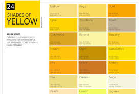 mustard color code shades of yellow color palette chart graf1x