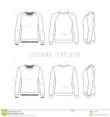 clothing templates set stock vector image 90991948