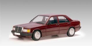 1990 mercedes 190e autoart 1990 mercedes 190e 2 0l barolo 76135 in 1 18