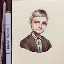 russian artist turns celebrities into adorable cartoon characters