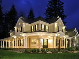 farmhouse with wrap around porch house wrap around porch exterior house style design