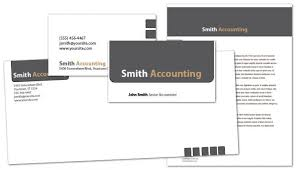 business card template for accounting tax services order