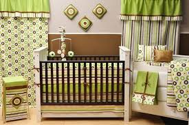 green crib bedding modern baby bedding striped crib bedding