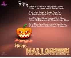 Halloween Boo Bag Poem Cartoons Happy Halloween Quotes