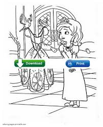 sofia the first free coloring pages