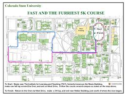 Colorado State University Campus Map by Fast And The Furriest 5k Fort Collins Co 2016 Active