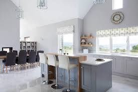 classic style inframe painted white and grey kitchen tipperary