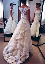 vintage lace wedding dresses 2018 vintage lace wedding dresses hepburn style the