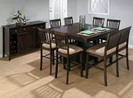 Cherry Wood Dining Room Furniture Jofran Bakers Cherry Butterfly Leaf Counter Table With Storage