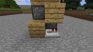 How To Build A Bookcase In Minecraft How To Make An Invisible Piston Door To Keep Your Hideout A Secret