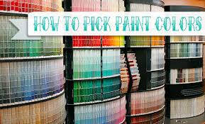 how to pick the perfect paint color
