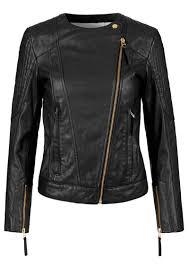 day birger day birger et mikkelsen day rocks leather jacket black