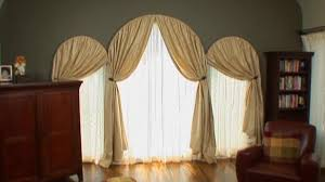 room window arched window treatments video hgtv