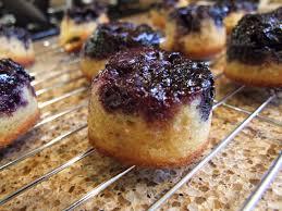 blueberry orange upside down cakes recipe blueberry cake and