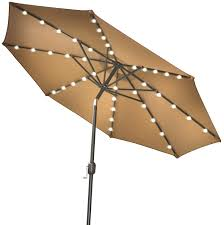 Battery Operated Patio Umbrella Lights by Umbrella With Led Lights Led Light Battery Operated And 2 On