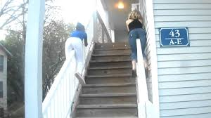 Sliding Down Banister Me And My Baby Kam Sliding Down A Pole Youtube