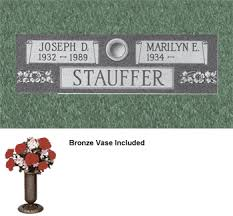 Cemetery Vases Bronze Cemetery Markers Grave Markers Burial Marker