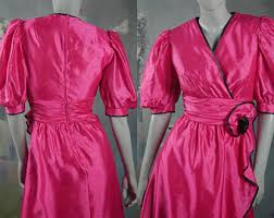 80s prom dress size 12 pink 80s prom dress etsy