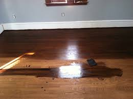Laminate Floor Brush Applying Wood Floor Stains Get Pro Tips