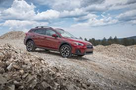 subaru crosstrek white 2018 2018 subaru crosstrek first drive review automobile magazine