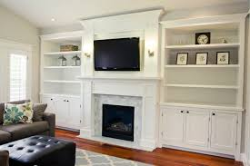 Fireplace Surround Bookshelves Fireplace Mantels With Bookshelves Subreader Co