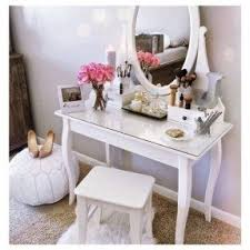 Girls Vanity Table And Stool Little Vanity Table Foter