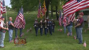 Memorial Garden Flags Fallen Md Heroes Honored At Dulaney Valley Memorial Gardens Youtube