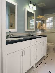 Bathroom Lights Ideas Black Bathroom Light Fixtures Shown In Modern Black Finish
