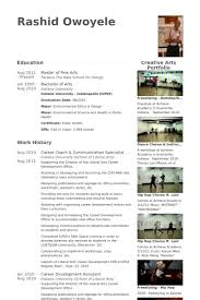 Career Coach Resume Sample by Communication Specialist Resume Samples Visualcv Resume Samples