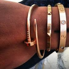cartier bracelet steel images Cartier love bangle replica eternal fake cartier jewelry and jpg