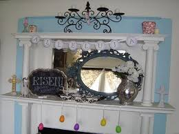 Easter Decorations For Mantels by Frugal Christian Easter Decorating Ideas U2014 Simply Frugal Living