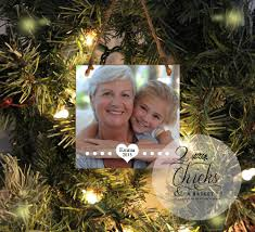 personalized christmas ornament photo ornament custom photo
