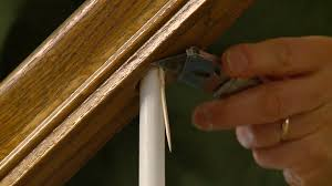 How To Build A Banister For Stairs How To Repair A Loose Staircase Baluster Spindle Today U0027s Homeowner